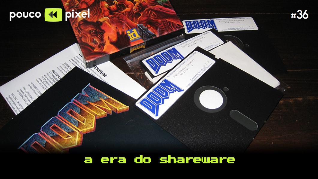 Capa - A era do shareware