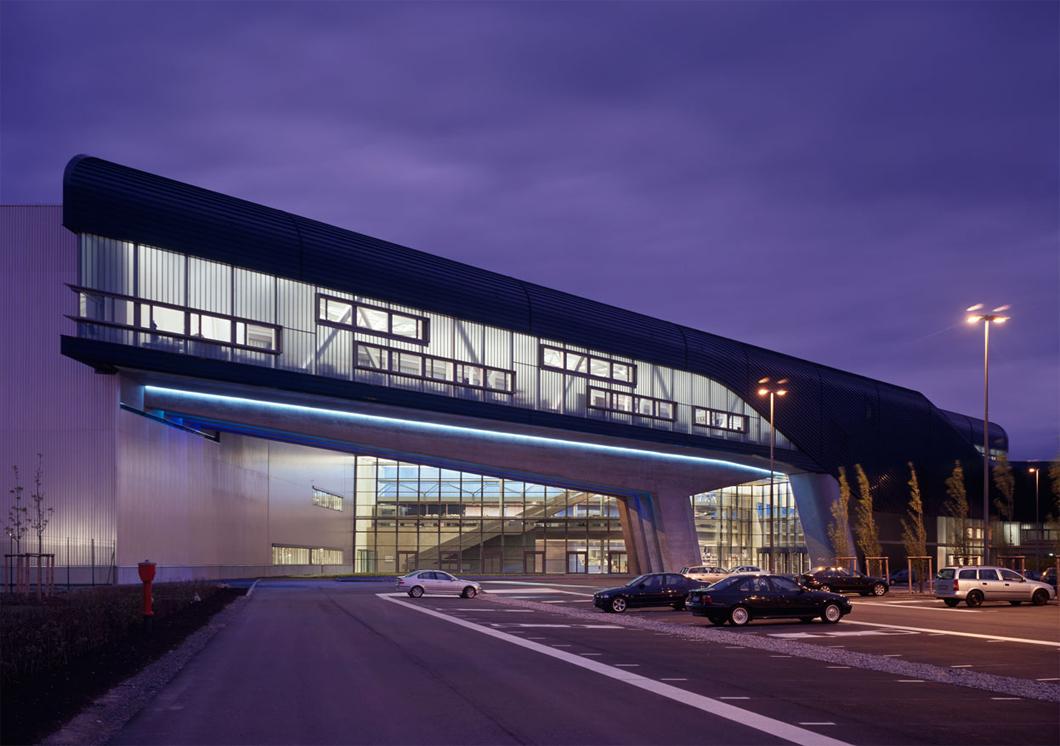 Fábrica da BMW na cidade de Leipzig, na Alemanha