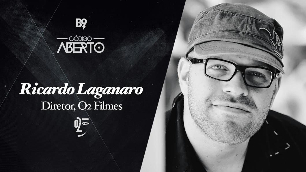 Capa - Ricardo Laganaro, Diretor, O2 Filmes