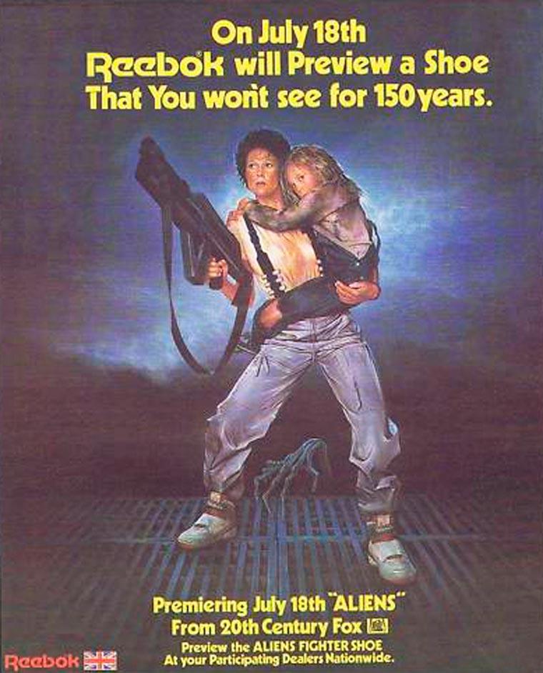 Anúncio original do tênis, lançado em 1987