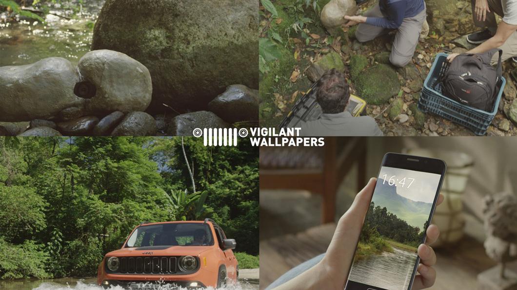 Ação da Jeep deixa você vigiar a mata atlântica pelo papel de parede do celular