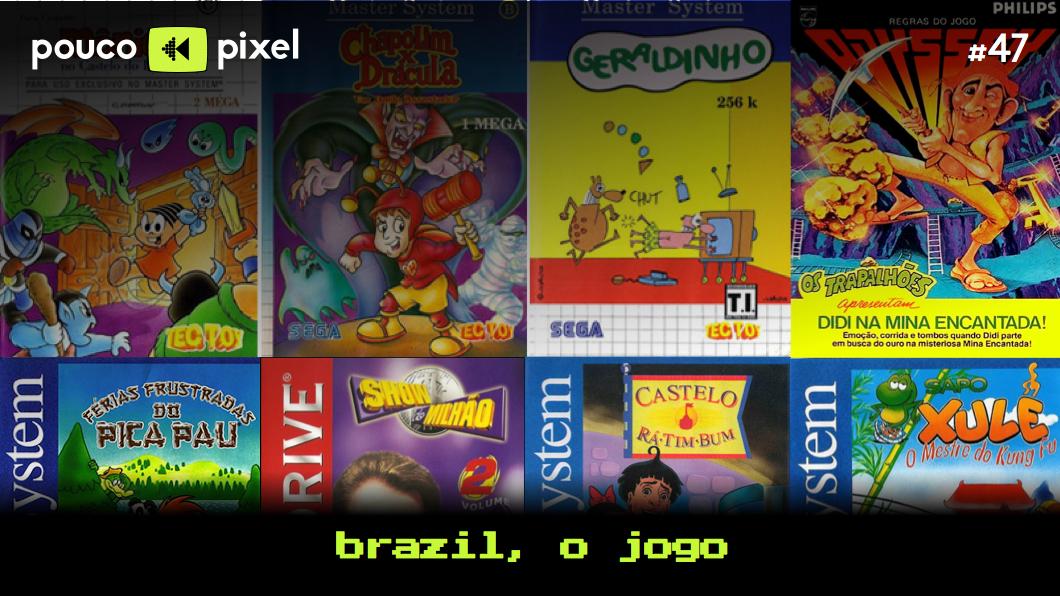 Capa - Brazil, o jogo