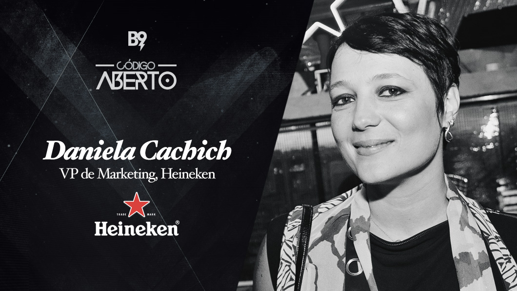 Capa - Daniela Cachich, VP de Marketing, Heineken