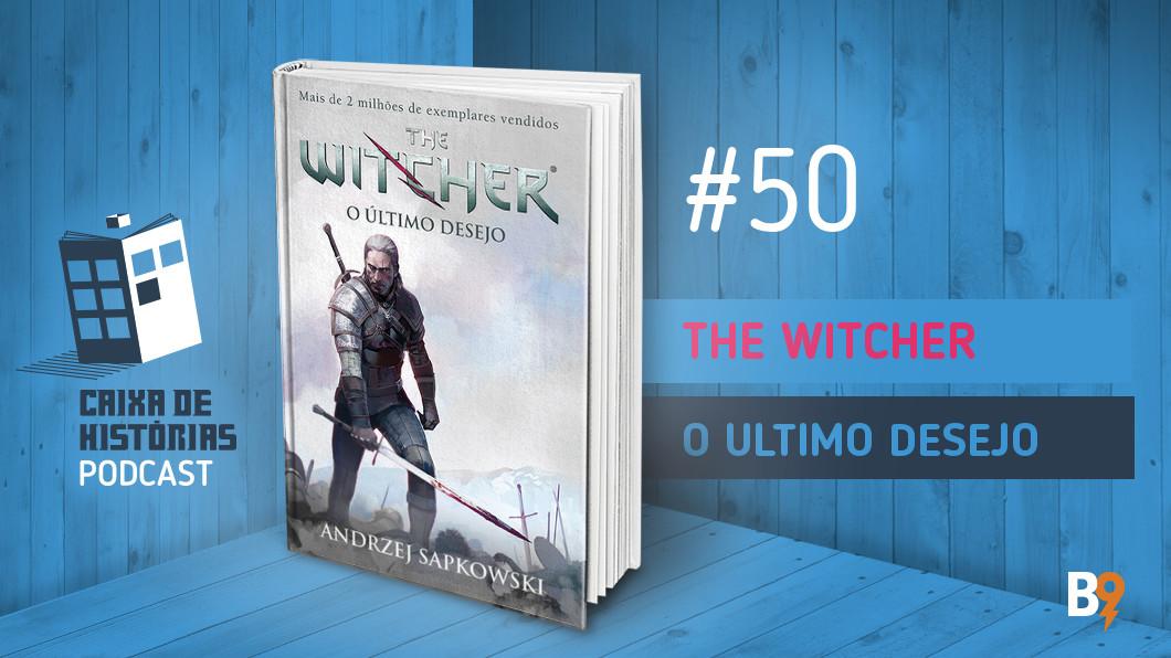 Capa - The Witcher: O Último Desejo