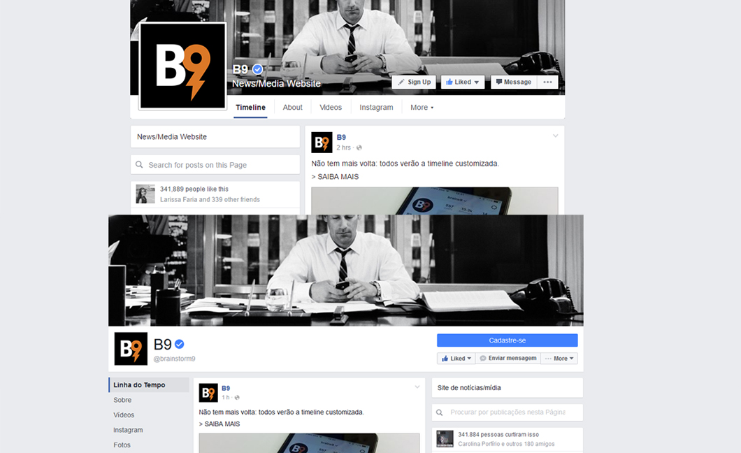 Este pode ser o pr ximo design das p ginas do facebook for O architecture facebook