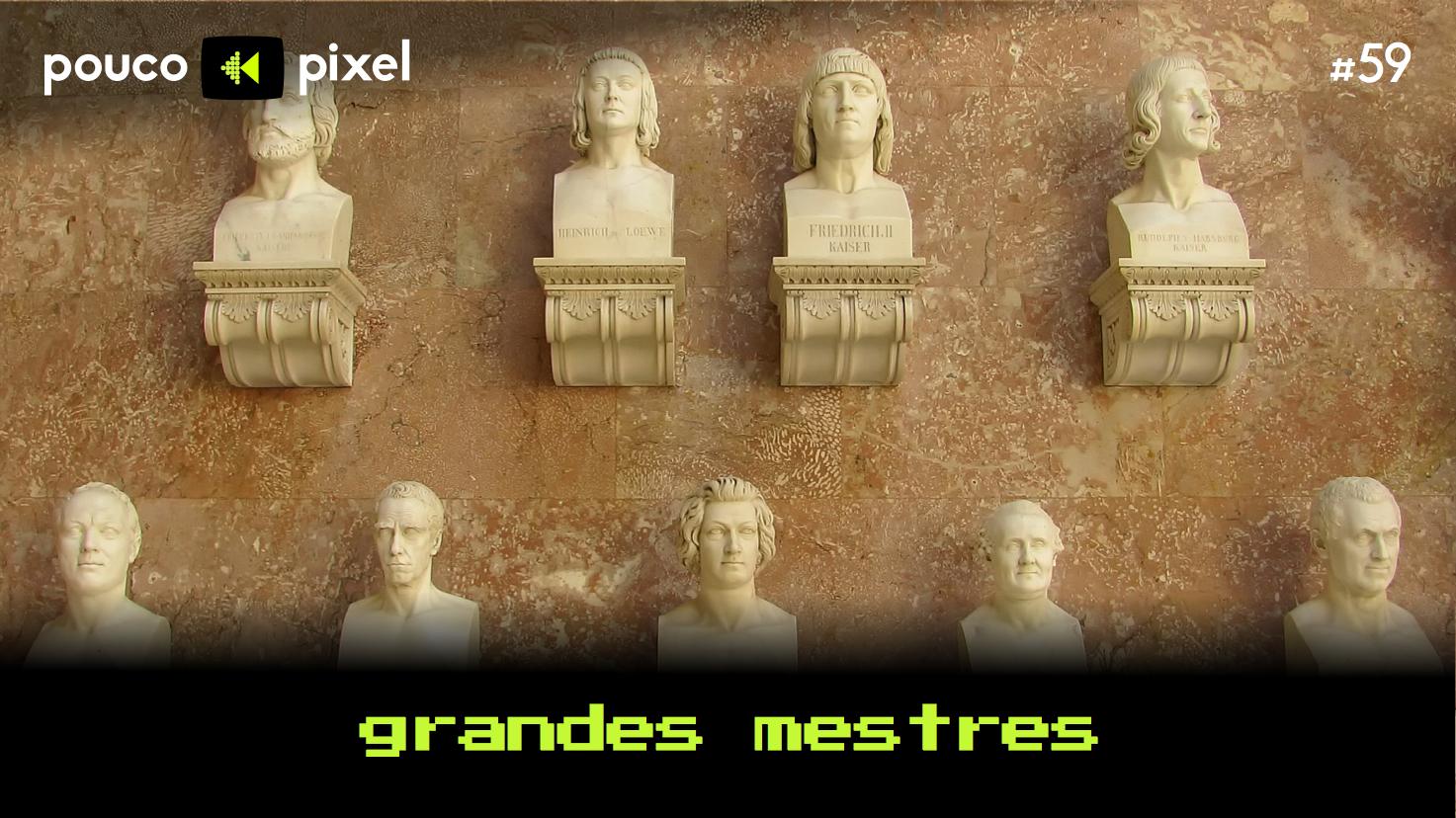 Capa - Grandes mestres