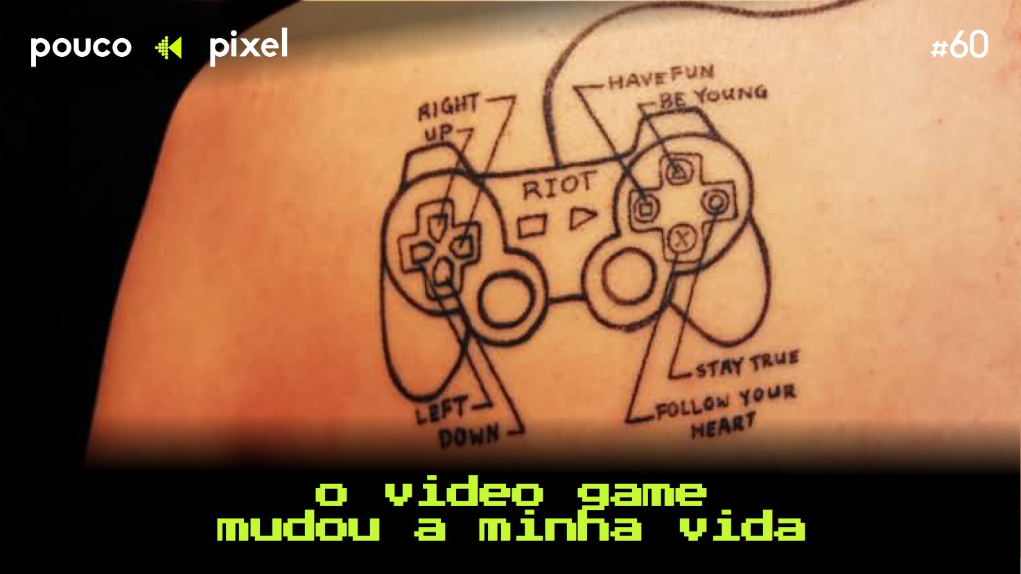 Capa - O video game mudou a minha vida