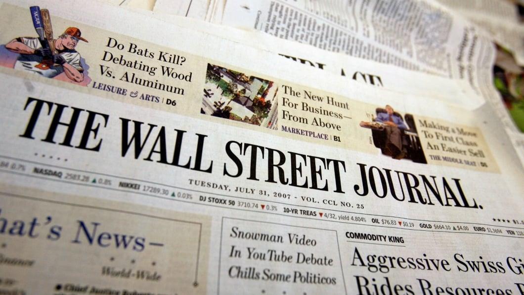 Wall Street Journal vai falar palavrão
