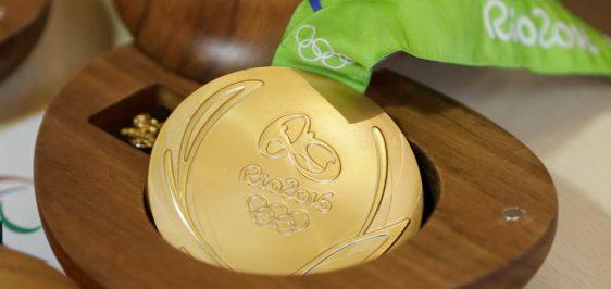 Medal Rio 2016 Wooden Case
