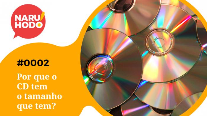 Naruhodo! #2 – Por que o CD tem o tamanho que tem?