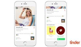 Tinder e Spotify