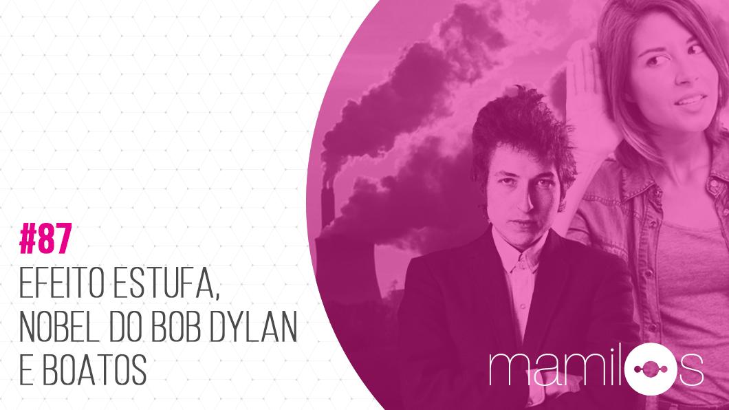 Capa - Efeito Estufa, Nobel de Bob Dylan e Boatos