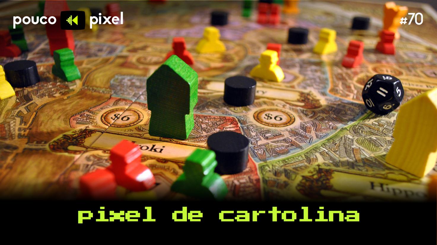 Capa - Pixel de cartolina