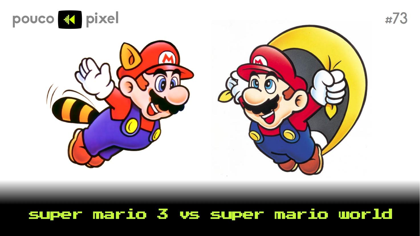 Capa - Super Mario 3 vs. Super Mario World