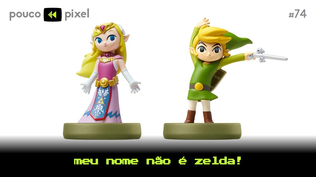 Capa - Meu nome não é Zelda!