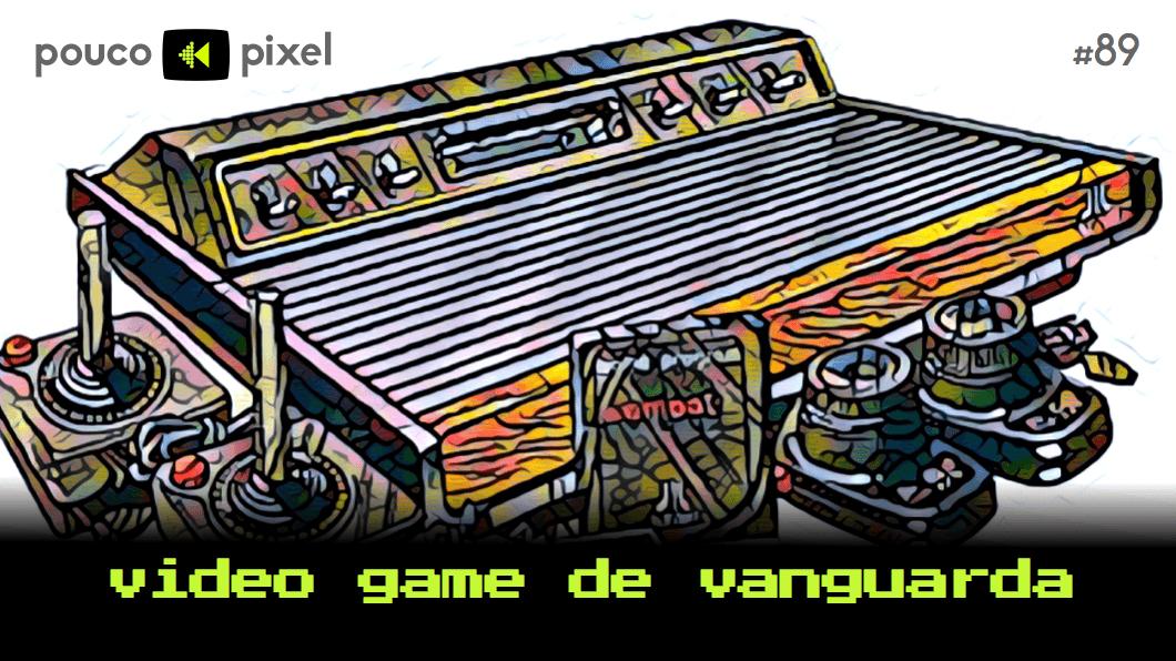 Capa - Video game de vanguarda