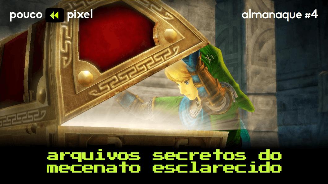 Capa - Almanaque 4 - Arquivos secretos do Mecenato Esclarecido