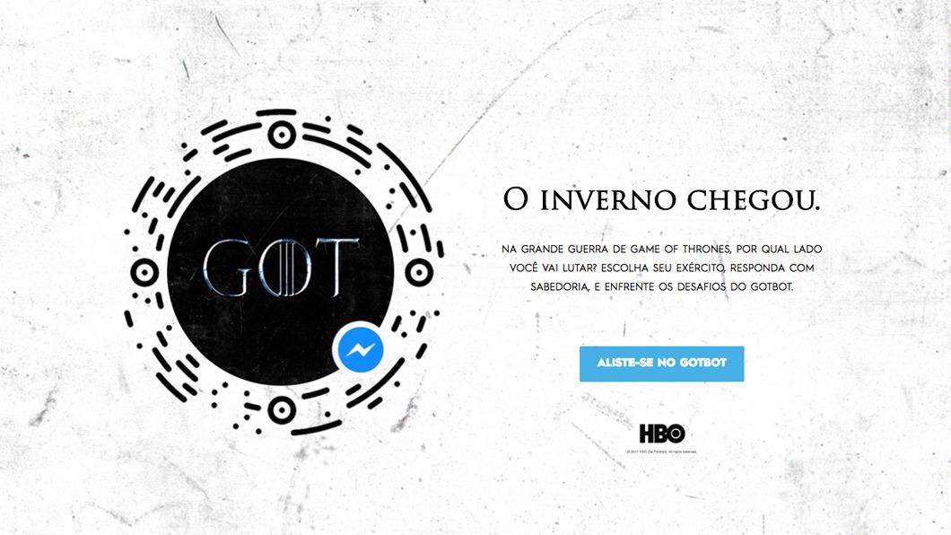 """Bot de """"Game of Thrones"""" testa o seu conhecimento sobre a série"""
