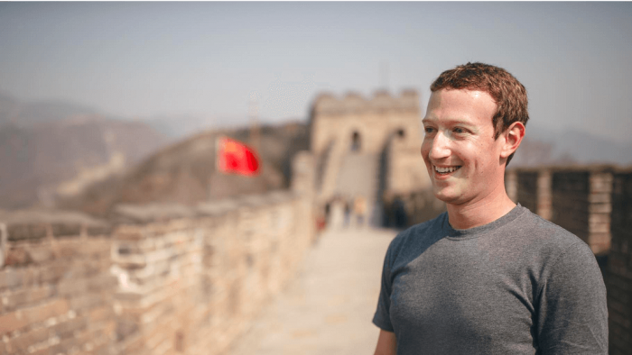 O Facebook quer conquistar a China