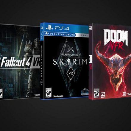 Skyrim, Doom e Fallout 4 ganham data de lançamento para versão em Realidade Virtual
