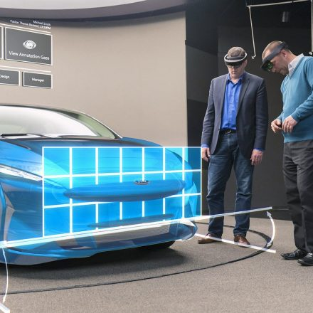 Ford Tests Microsoft HoloLens