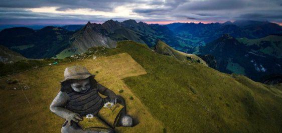 Arte-Montanha-Suiça