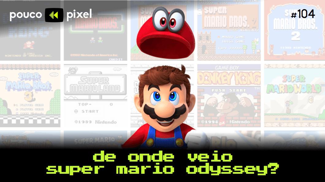 Capa - De onde veio Super Mario Odyssey?