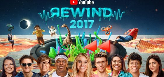 Retrospectiva YouTube Rewind 2017