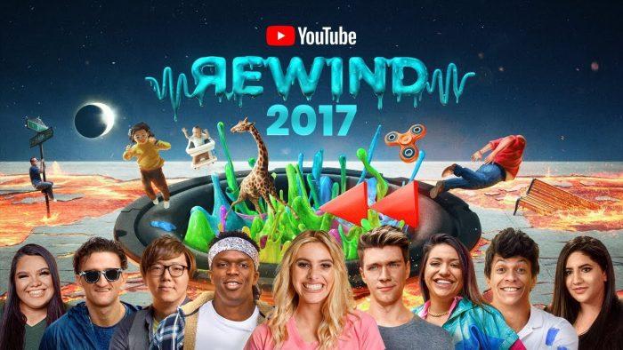 Retrospectiva YouTube Rewind 2017