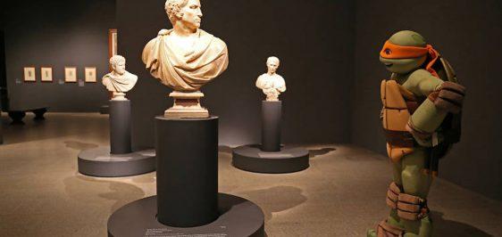 Michelangelo-no-museu