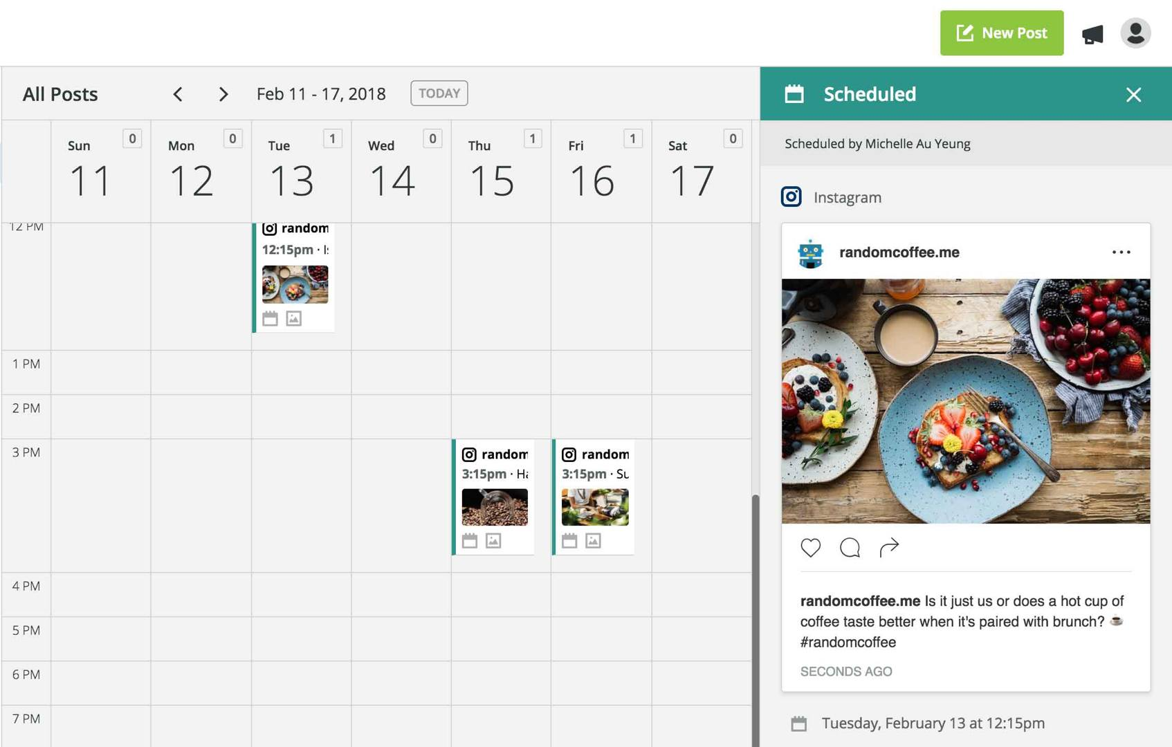 instagram-agendamento
