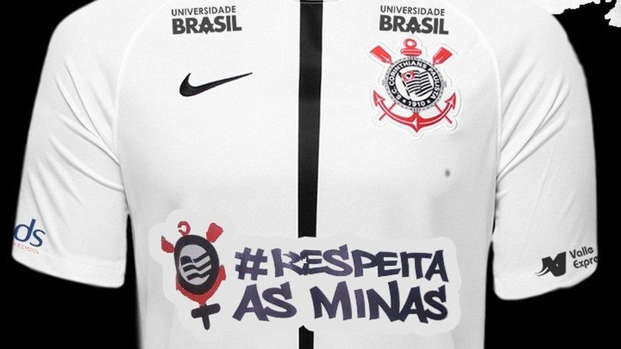 Respeitaasminas Corinthians Adiciona Frase No Uniforme Em