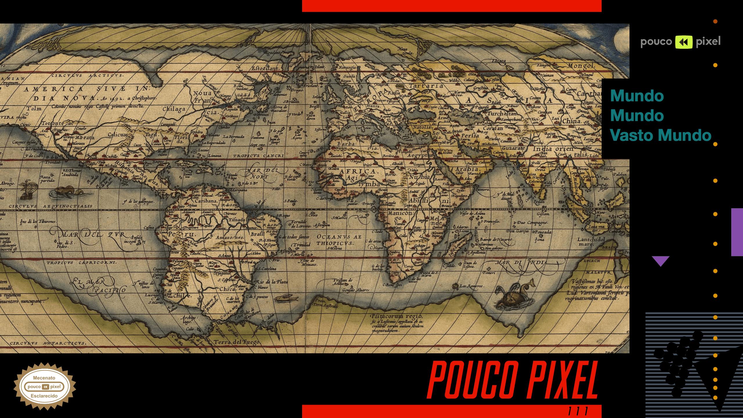 Capa - Mundo mundo vasto mundo
