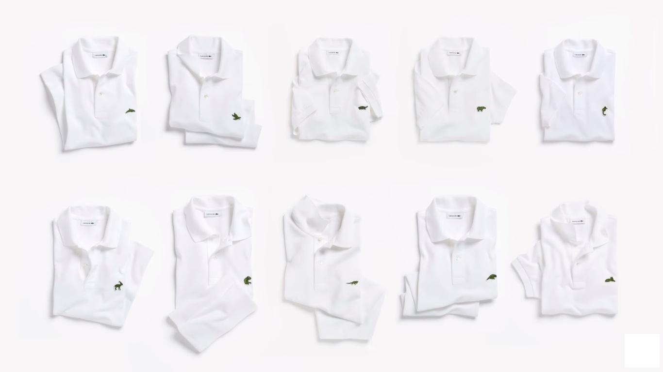 Lacoste substitui o famoso logo do jacaré de suas camisas pólo por espécies  em extinção 86f5c15b0f