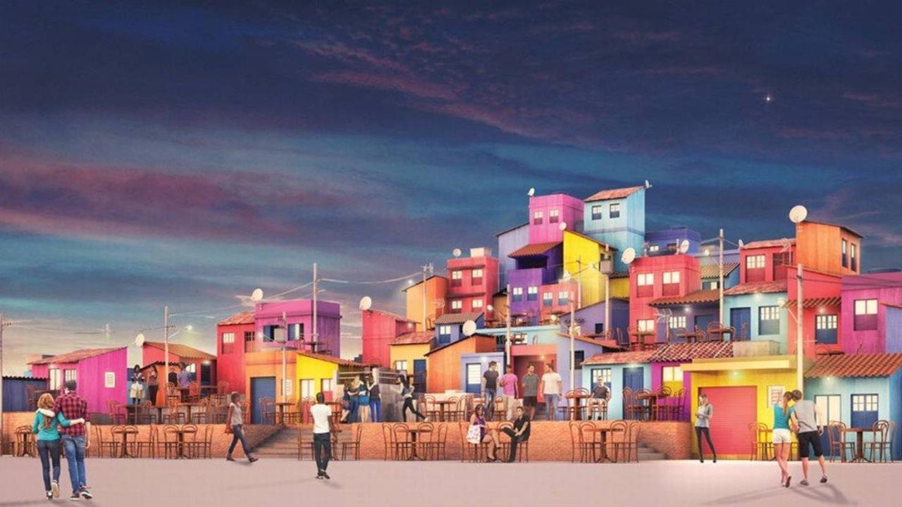 Resultado de imagem para espaço favela rock in rio