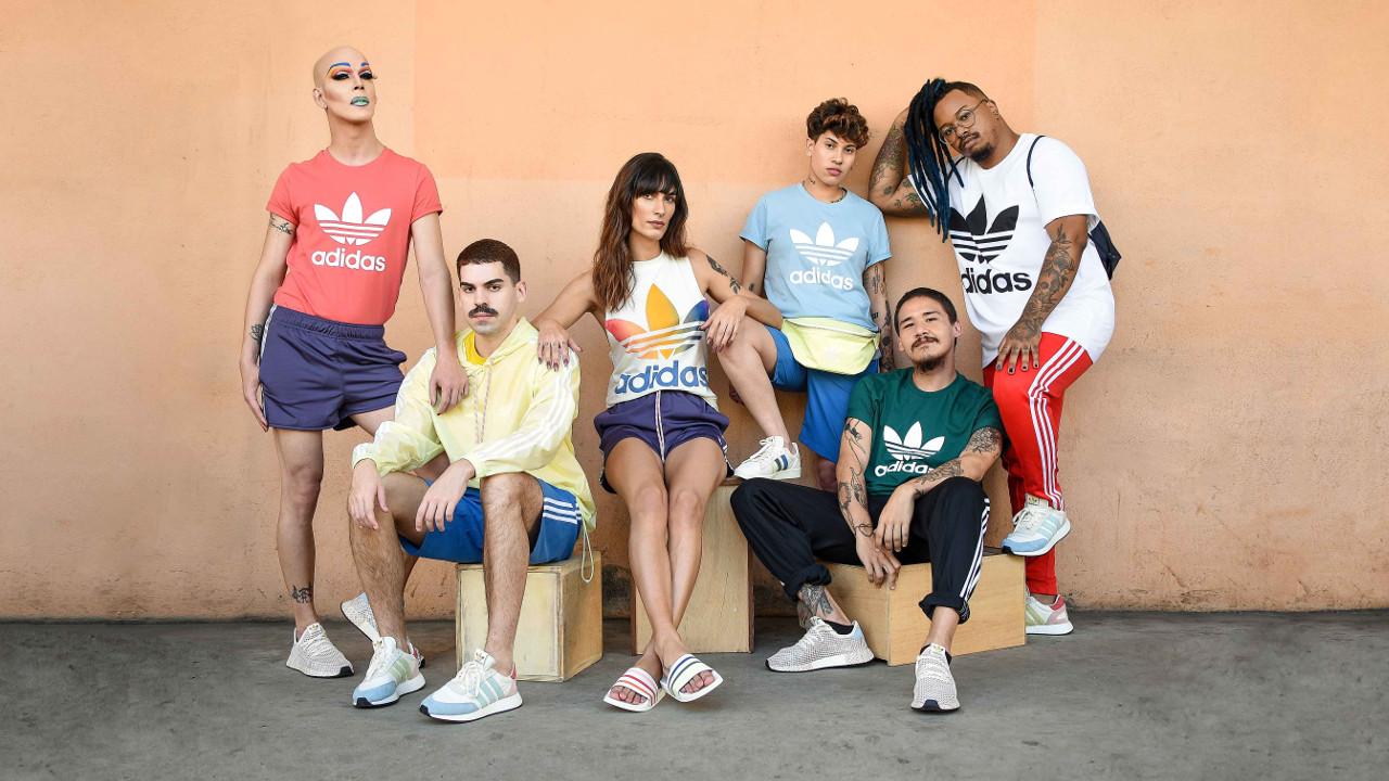 the best attitude 8c543 81ffe Adidas lança linha Pride Pack para celebrar a diversidade no mês do orgulho  LGBT+