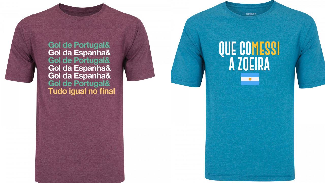88ccaf8a9e52c Centauro cria camisas em tempo real durante jogos da Copa do Mundo