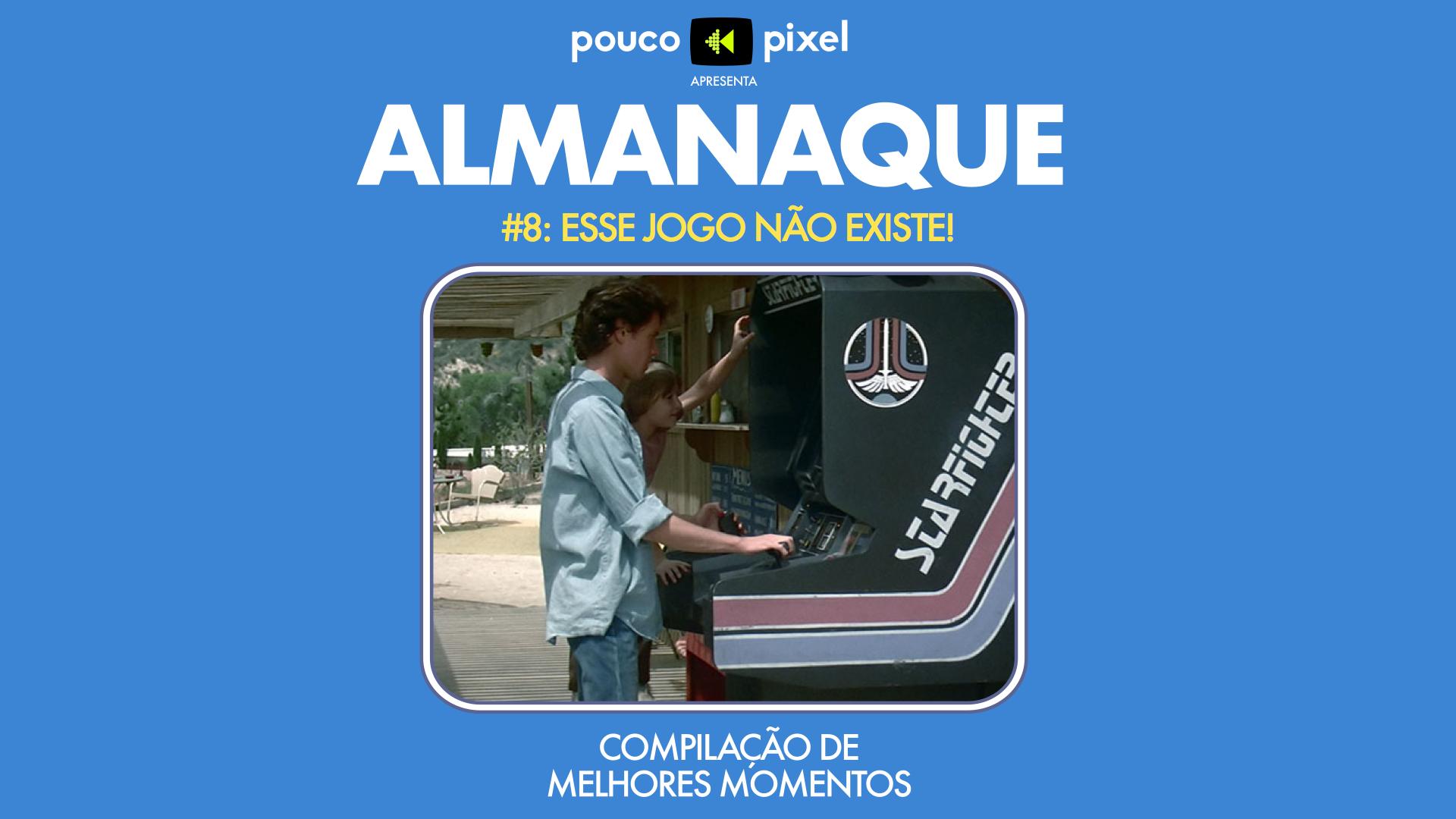 Capa - Almanaque 8 - Esse jogo não existe!