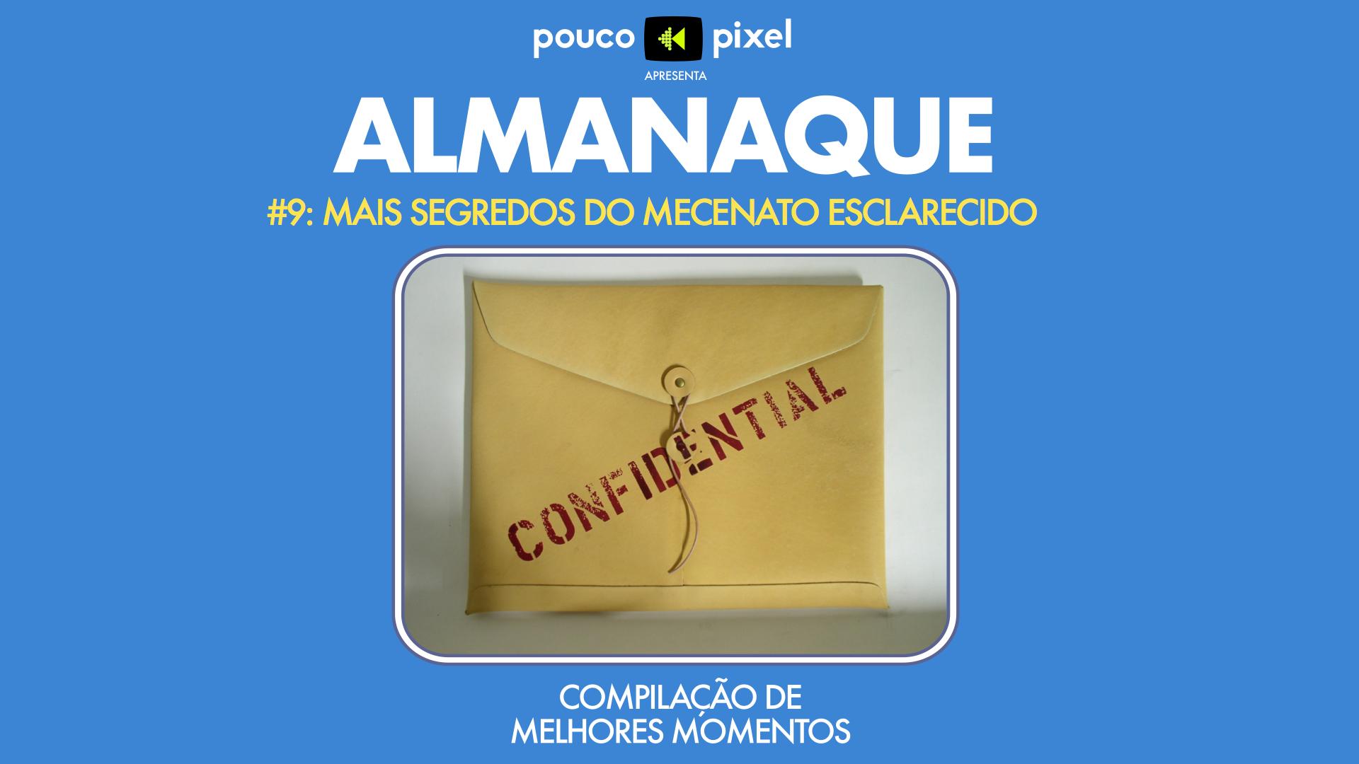 Capa - Almanaque 9 - Mais segredos do Mecenato Esclarecido