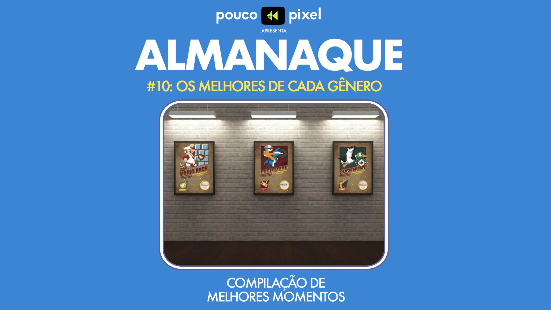Capa - Almanaque 10 - Os melhores de cada gênero