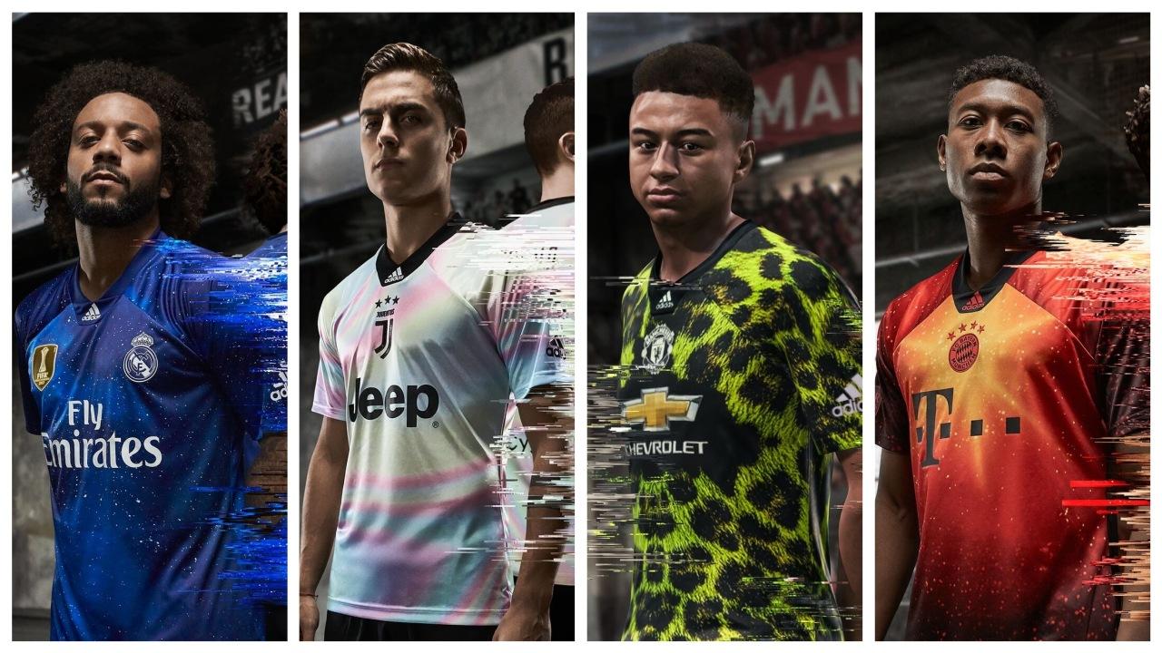 """2e6906e531839 Adidas e EA Sports lançam versões físicas dos uniformes inéditos do """"FIFA  19"""""""