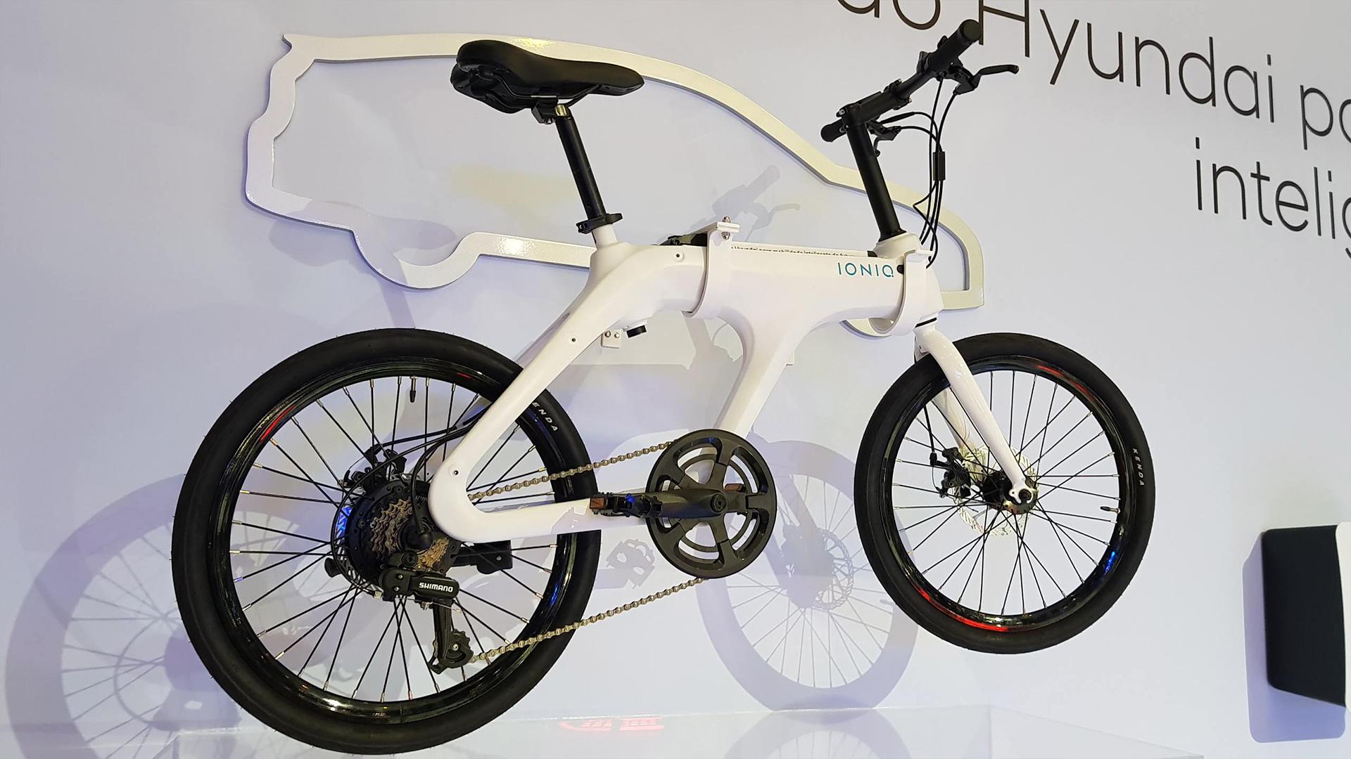 Bicicleta elétrica da Hyundai