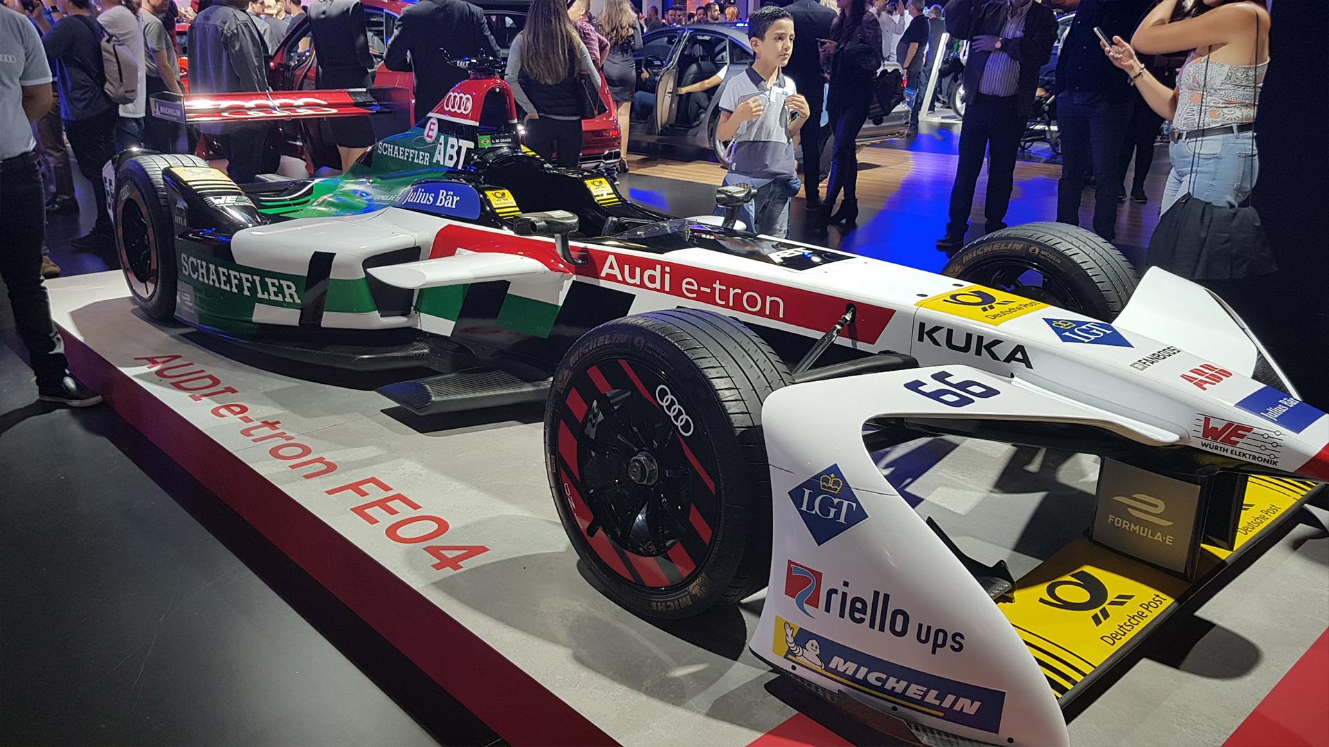 Audi e-tron FE04 de Lucas di Grassi