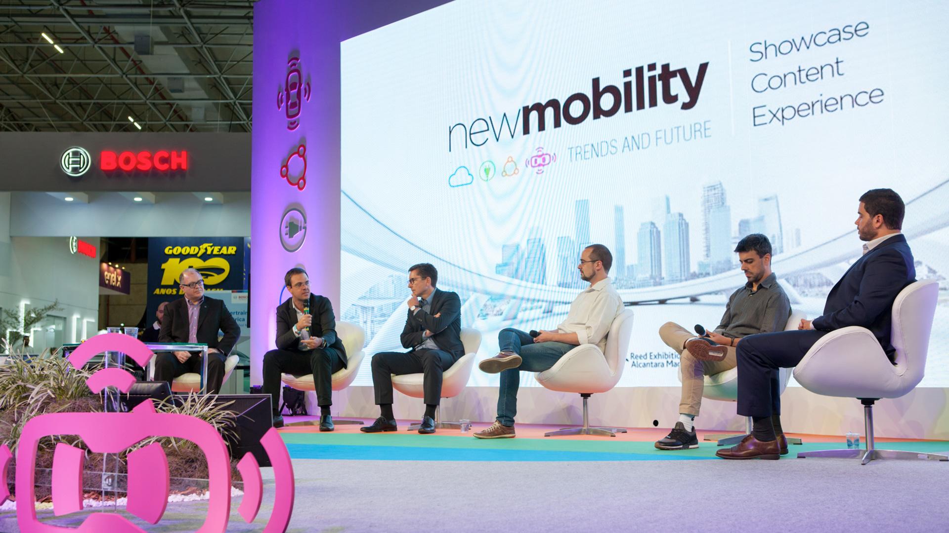 Discussões sobre o futuro da mobilidade no palco New Mobility