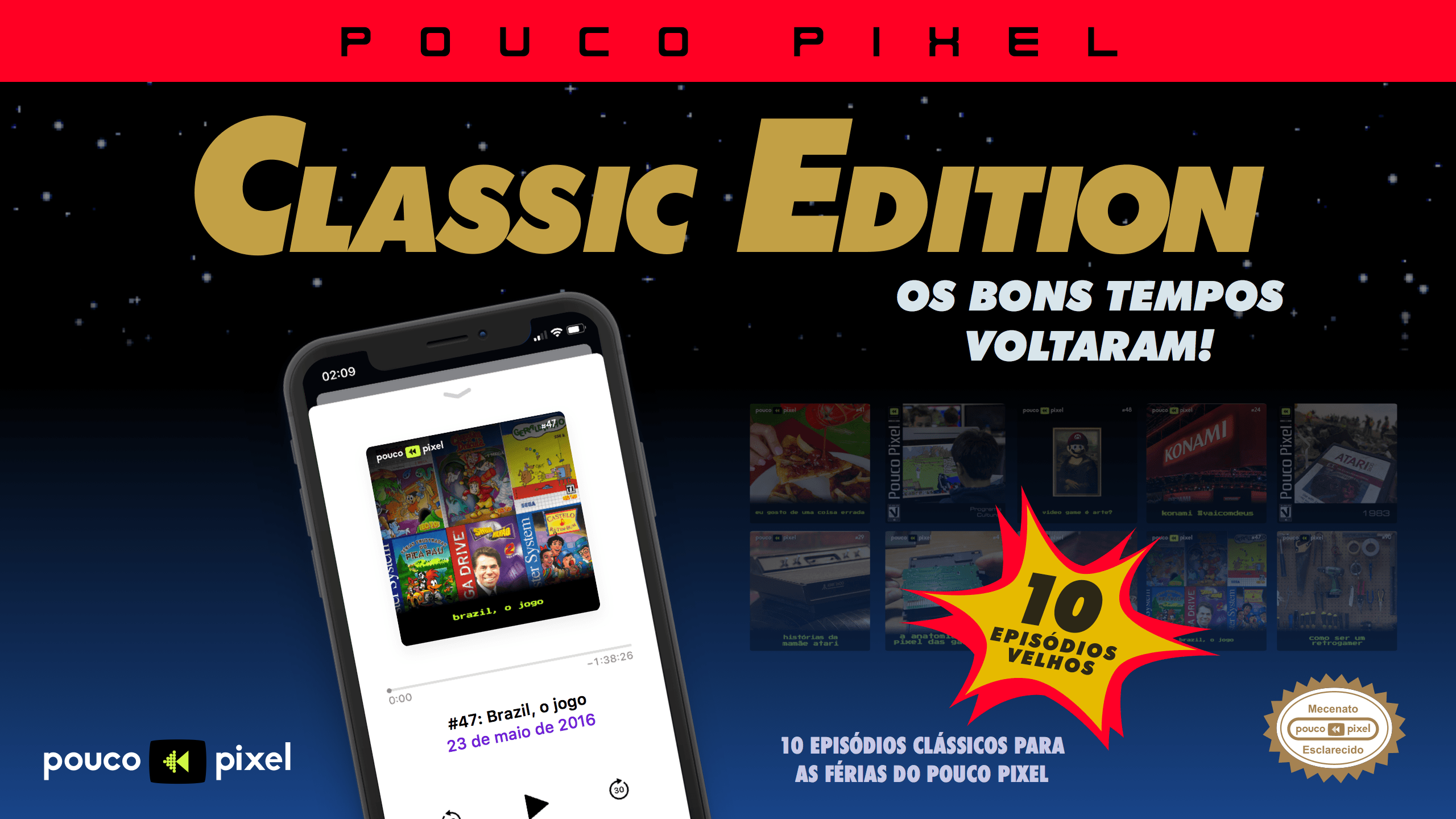 Pouco Pixel Classic Edition 9 – Brazil, o jogo