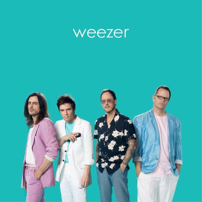 weezer-teal-album-capa