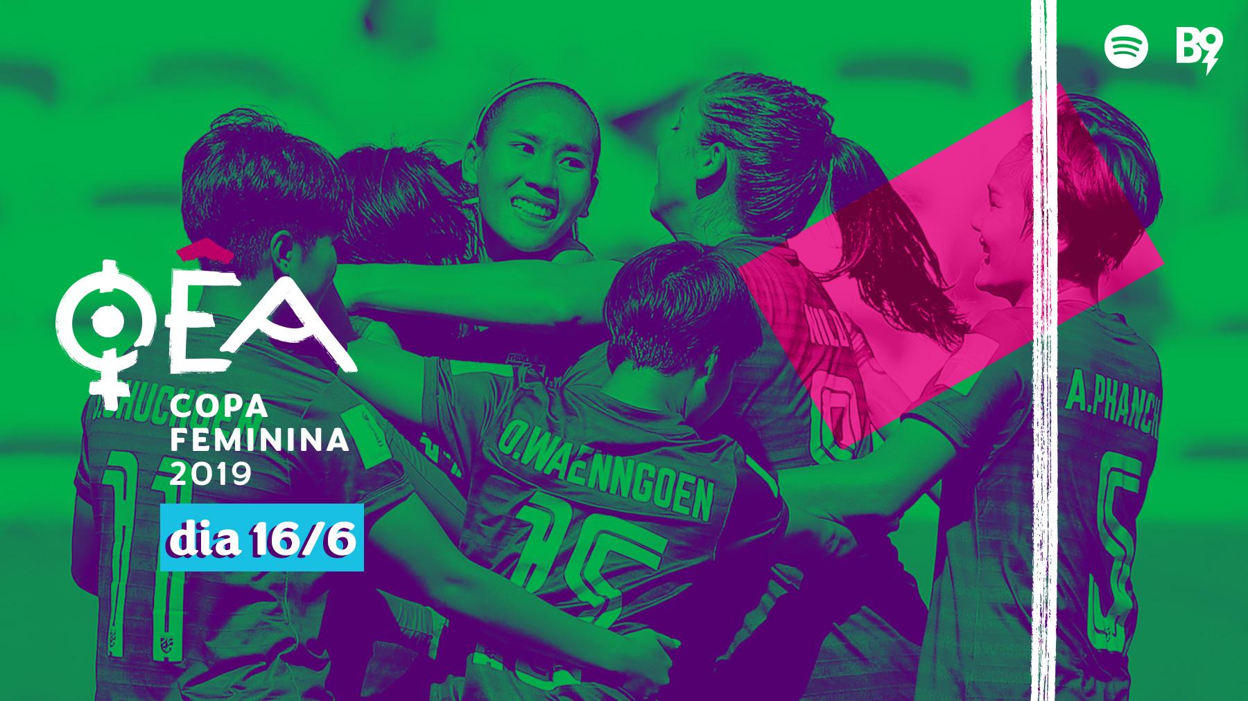 Oêa: Copa 2019 — 🇸🇪 5-1 🇹🇭 / 🇺🇸 3-0 🇨🇱
