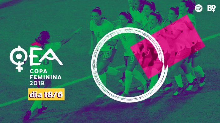 Oêa: Copa 2019 — 🇯🇲 1-4 🇦🇺 / 🇮🇹 0-1 🇧🇷