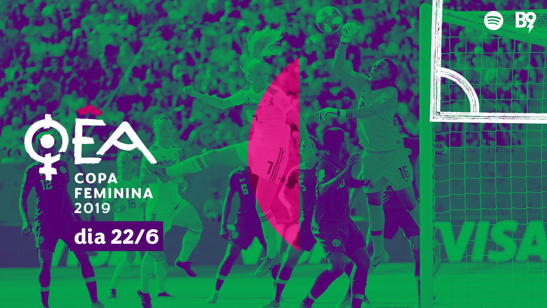 Oêa: Copa 2019 — 🇩🇪 3-0 🇳🇬 / 🇳🇴 1-1 🇦🇺