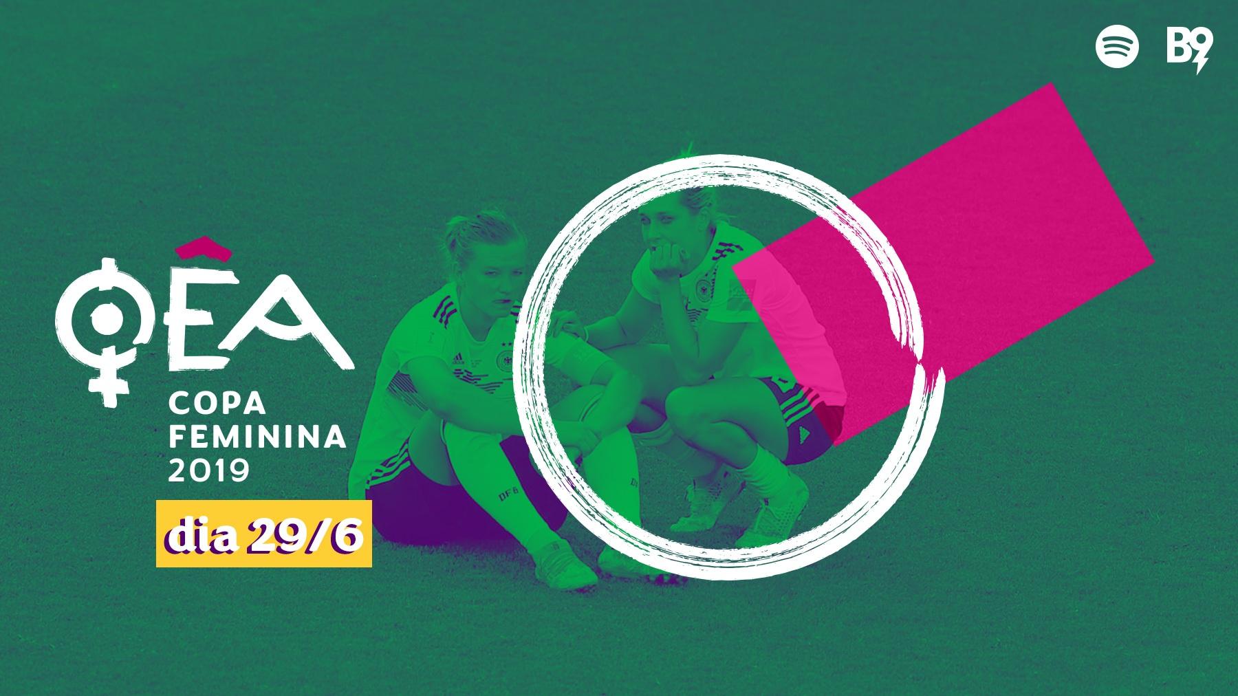 Oêa: Copa 2019 — 🇮🇹 0-2 🇳🇱 / 🇩🇪 1-2 🇸🇪